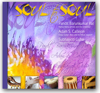 CD SOUL to SOUL, musique de l'Inde et d'occident