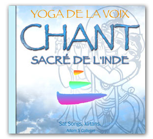 CD SAT SONGS, Yoga de la Voix chant sacré de l'Inde